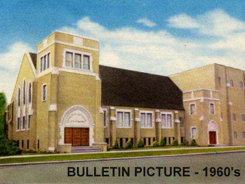 1960s bulletin pict church